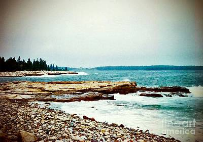 Photograph - The Maine Shore by Desiree Paquette