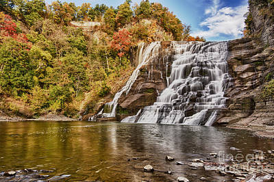 Photograph - The Majestic Ithaca Falls by Brad Marzolf Photography