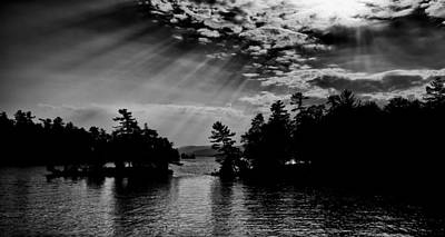 Photograph - The Majestic Lake George by David Patterson