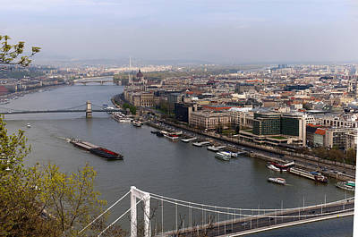 Photograph - The Majestic River Danube by Brenda Kean