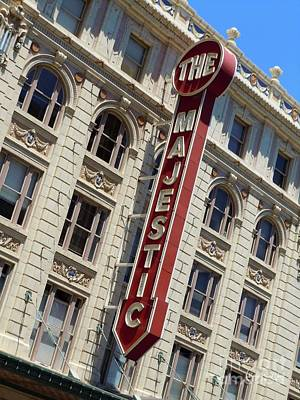 Art Print featuring the photograph The Majestic Theater Dallas #2 by Robert ONeil
