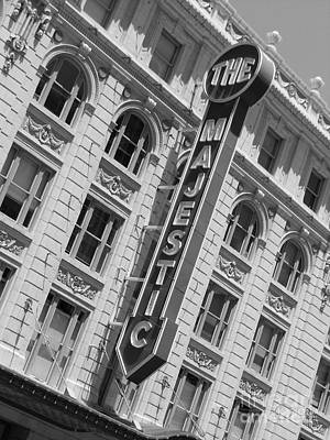 The Majestic Theater Dallas #3 Art Print