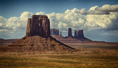 Photograph - The Majesty Of Monument Valley  by Saija  Lehtonen