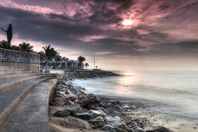 The Malecon Art Print