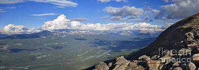 Photograph - The Maligne Range by Charles Kozierok