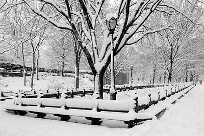 Photograph - The Mall At Nyc Central Park by Susan Candelario