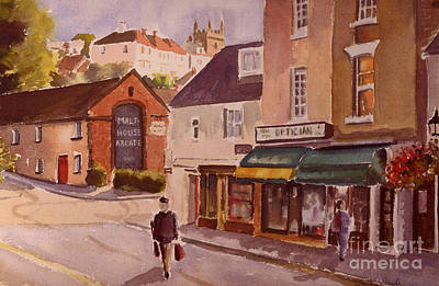 Painting - The Malt House Hythe by Beatrice Cloake