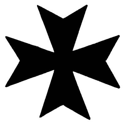 The Maltese Cross Art Print by Granger