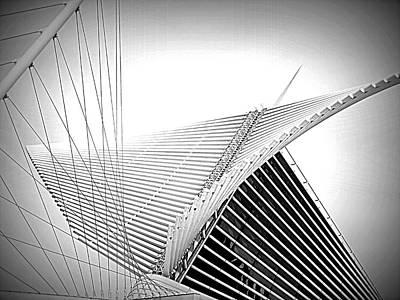 Photograph - The Mam Milwaukee Art Museum by Kay Novy