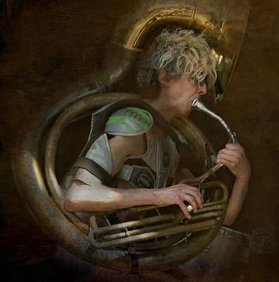 The Man - The Tuba Art Print
