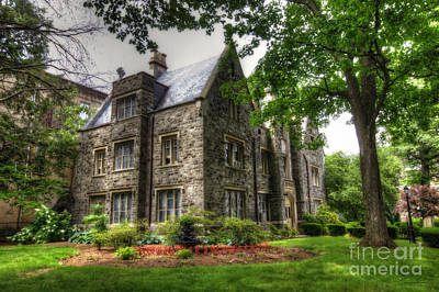 Traci Law Photograph - The Manor by Traci Law