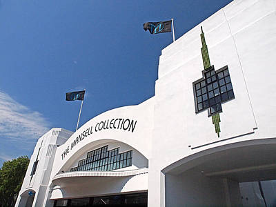 Photograph - The Mansell Collection - Art Deco Building by Gill Billington