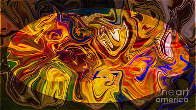 Digital Art - The Many Faces Of Experience Abstract Healing Art by Omaste Witkowski