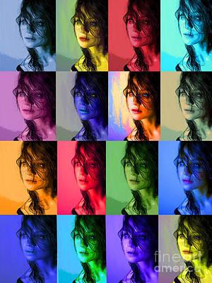 Maureen Digital Art - The Many Moods by Maureen Tillman