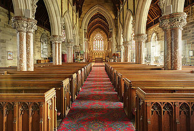 St Margaret Photograph - The Marble Church by Mal Bray