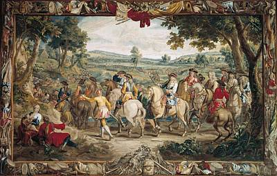 Tapestries Textiles Photograph - The March. 17th C. Germany. Munich. New by Everett