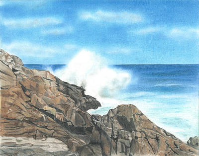 Drawing - The Marginal Way by Troy Levesque