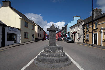 Eire Photograph - The Market Cross - And Quiet Man Pub by Panoramic Images