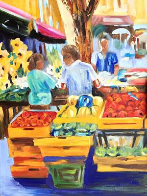 Painting - The Market by Joanne Killian