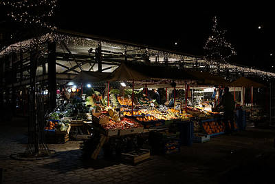 Photograph - The Market Place by Inge Riis McDonald