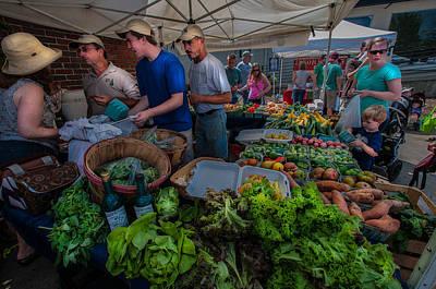Season Photograph - The Market by Randy Walton