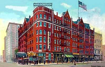 Painting - The Marlborough Hotel In New York City In 1909 by Dwight Goss