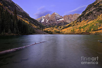 The Maroon Bells Art Print