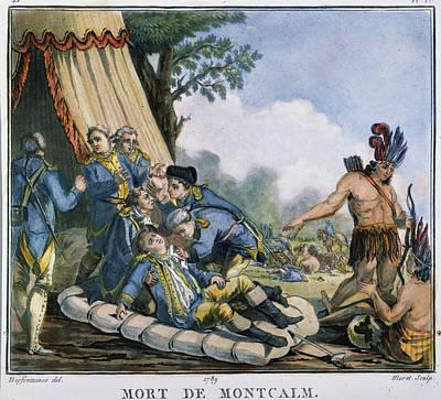 Quebec Painting - The Marquis De Montcalm (louis Joseph by Granger