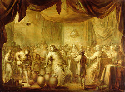 Miracle Photograph - The Marriage At Cana by Adriaen Pietersz. van de Venne