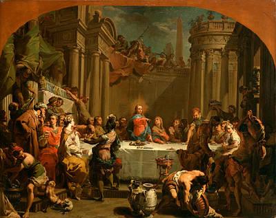 Cana Painting - The Marriage At Cana by Gaetano Gandolfi