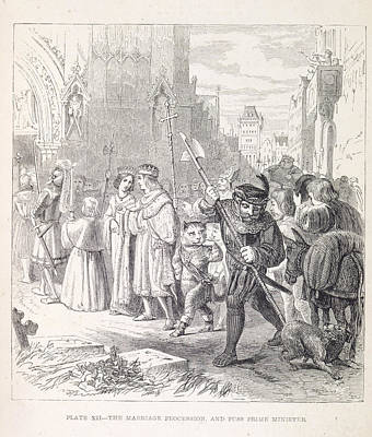 Puss Photograph - The Marriage Procession by British Library