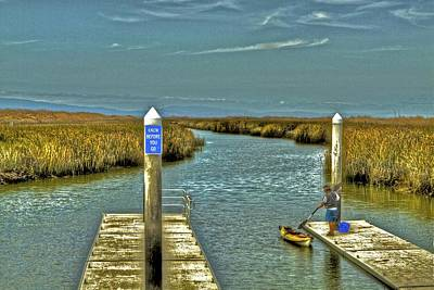 Photograph - The Marsh Preparing To Launch  2 by SC Heffner