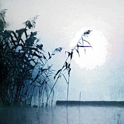 Painting - The Marsh by Selke Boris
