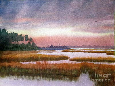 Painting - The Marsh by Shirley Braithwaite Hunt