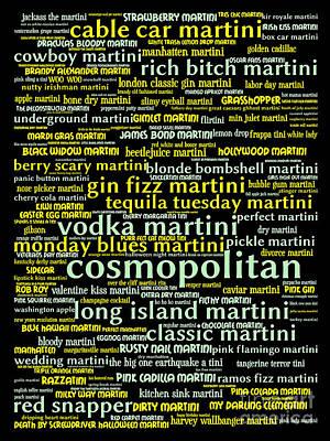 The Martini 20130628inv Art Print