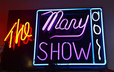 Photograph - The Mary Show by Denise Mazzocco