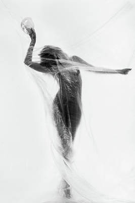 Nude Photograph - The Mask Dance by Patrick Odorizzi