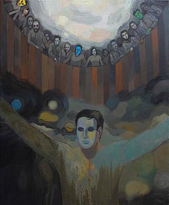 Social History Painting - The Mask by Fernando Alvarez