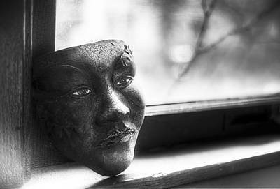 Panes Photograph - The Mask by Scott Norris
