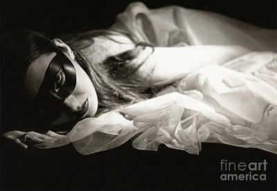 Photograph - The Masked Woman by Sharon Kalstek-Coty