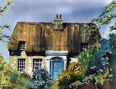 Painting - The Massey Cottage by Val Byrne