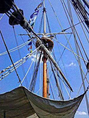 Photograph - The Mast by Cathy Shiflett