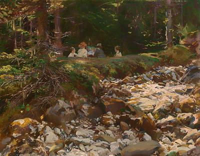 Education Painting - The Master And His Pupils by Mountain Dreams