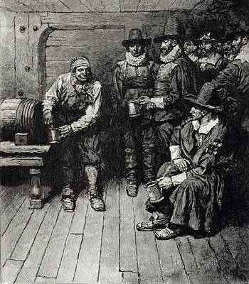 Tankard Photograph - The Master Caused Us To Have Some Beere, From Harpers Magazine, 1883 Litho by Howard Pyle