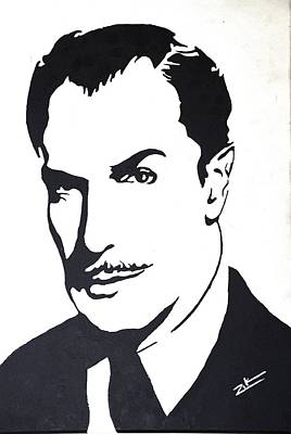 Vincent Price Painting - The Master by Zikraun