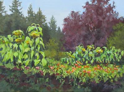 Painting - The Matriarchs by Karen Ilari