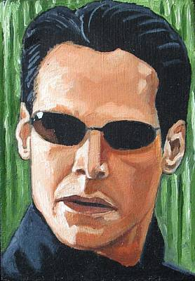 The Matrix Painting - The Matrix by Patrick Killian