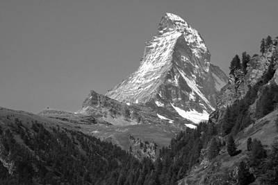 Dreamy Photograph - The Matterhorn by Peter Viteritti