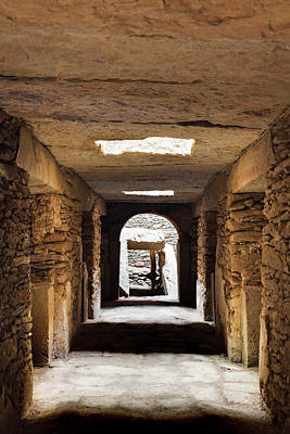 Tomb Photograph - The Mausoleum, A Tomb With 10 Chambers by Martin Zwick