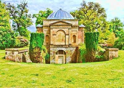 Photograph - The Mausoleum Bowood -01 by Paul Gulliver